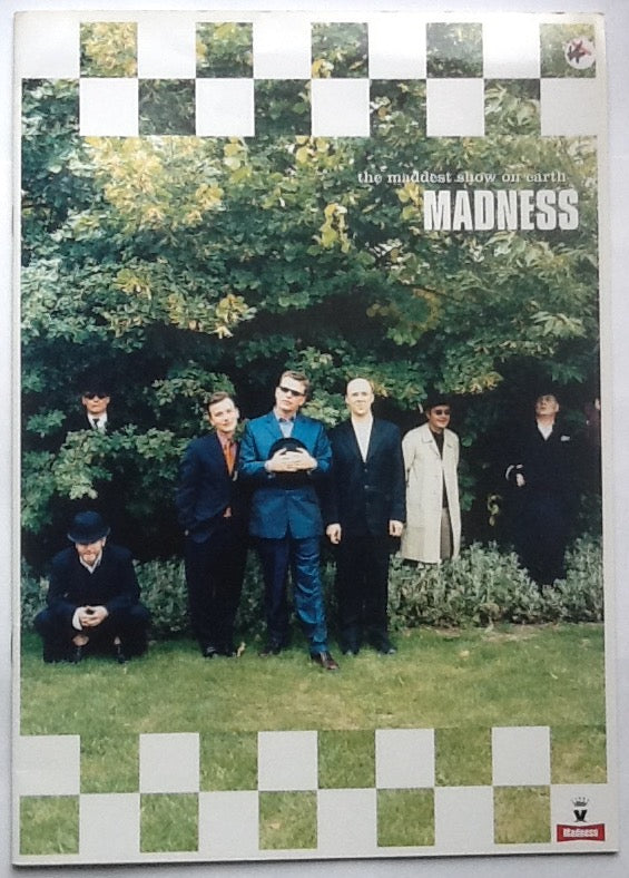 Madness Original Concert Programme Maddest Show on Earth Tour 1999