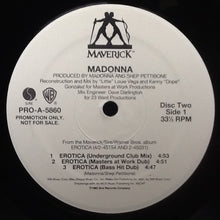 Load image into Gallery viewer, Madonna Erotica 11 Track  2 x 12