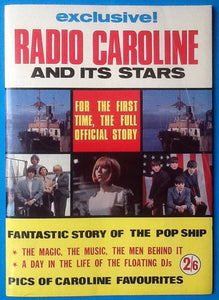 Radio Caroline and its Stars Magazine with Beatles and others