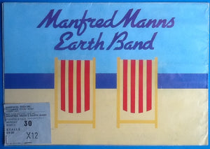 Manfred Mann's Earth Band Original Concert Programme And Ticket  London 1981