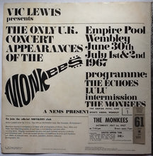 Load image into Gallery viewer, Monkees Lulu Echoes Original Concert Programme and Ticket Wembley London 1967