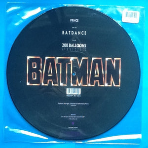 "Prince Batdance NMint 2 Track 12"" Picture Disc 1989"