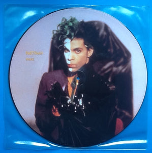 "Prince Partyman 2 Track 12"" NMint Picture Disc 1989"