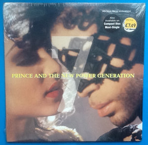 "Prince 7 6 Track 12"" Picture Sleeve Still Sealed USA 1992"