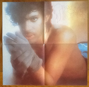 "Prince Little Red Corvette 3 Track 12"" NMint Picture Sleeve with Poster 1983"