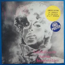 "Load image into Gallery viewer, Prince Little Red Corvette 3 Track 12"" NMint Picture Sleeve with Poster 1983"