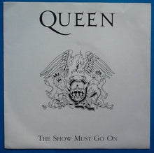 "Load image into Gallery viewer, Queen The Show Must Go On 2 Track 7"" Red Vinyl Single Picture Sleeve Italy 1994"