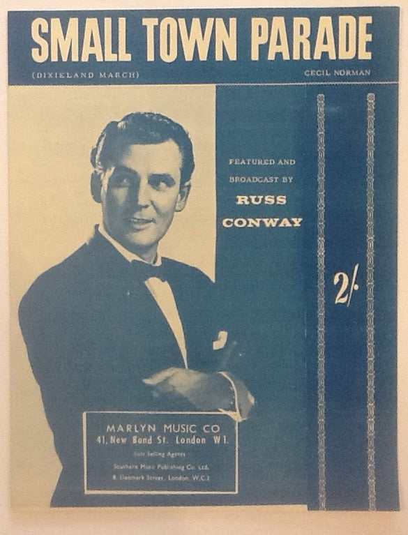 Russ Conway Small Town Parade Original Mint Sheet Music 1959