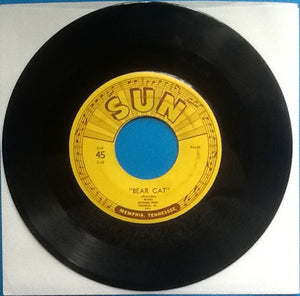"Rufus Thomas Jr. Bear Cat Original 7"" 45 Sun Label 1953"