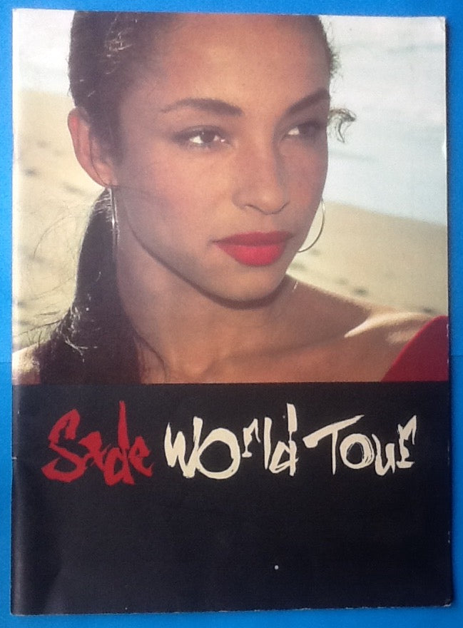 Sade Original Concert Programme World Tour 1988