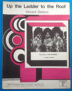 Supremes Up The Ladder To The Roof Sheet Music 1970