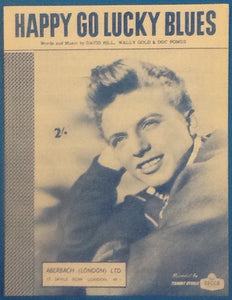 Tommy Steele Happy Go Lucky Blues Original Mint Sheet Music 1960