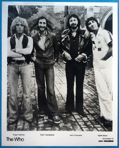 Who Promo Photo Who By Numbers Album & Tour 1975