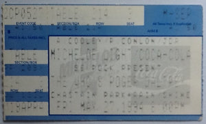 Who Roger Daltrey Original Used Concert Ticket Chastain Park Atlanta 1994