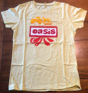 Oasis Original Unused New Dig Out Your Soul Promo Tour Ladies T Shirt Europe 2009