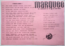 Load image into Gallery viewer, Vapours Joan Jett Original Concert Handbill Flyer Marquee Club London May 1980