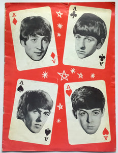 Beatles Mary Wells Original Four Aces Concert Programme British Tour 1964