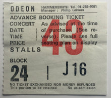 Load image into Gallery viewer, Dire Straits Original Used Concert Ticket Hammersmith Odeon London 22nd July 1983