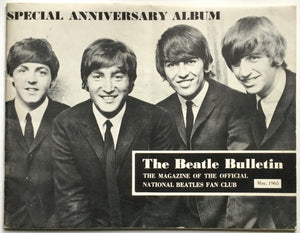 Beatles The Beatle Bulletin Original Fan Club Booklet Magazine May 1965