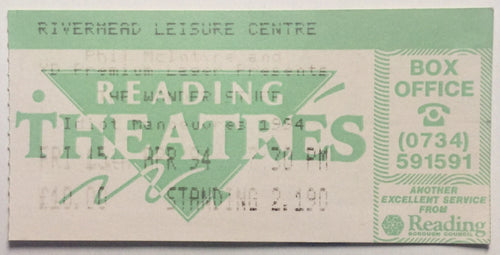 Wonder Stuff Original Used Concert Ticket Rivermead Leisure Centre Reading 15th Apr 1994