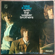 Load image into Gallery viewer, Walker Brothers Take It Easy Original Signed Autographed Vinyl Album LP 1965