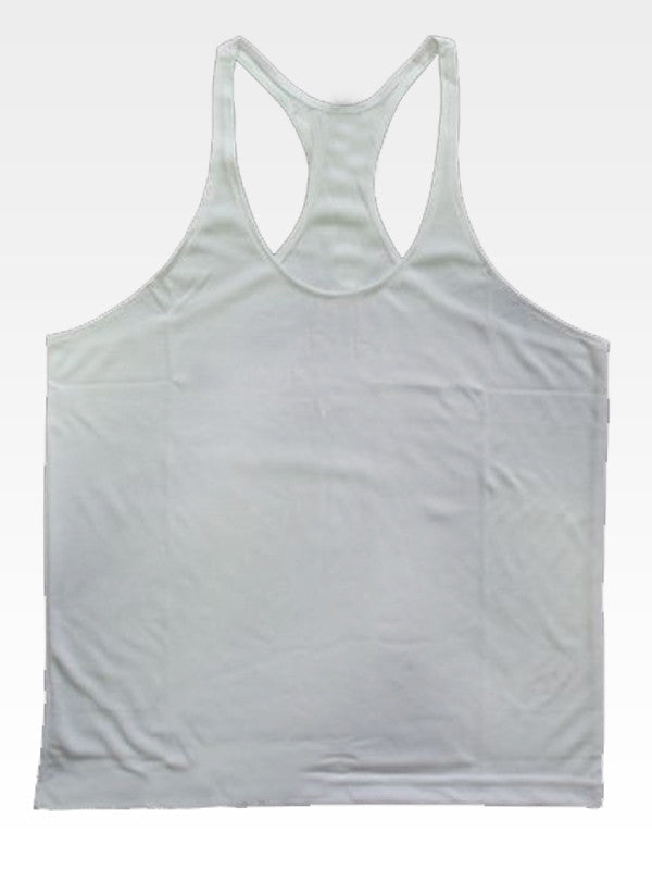 Hyperlion Pure Men's Grey Training Gym Stringer Vest