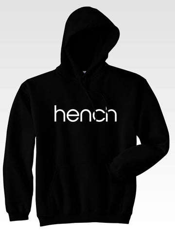 Hyperlion Hench Mens Black Gym Hoodie