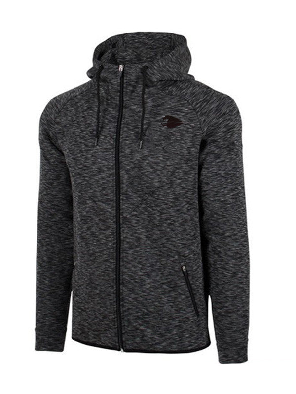 Hyperlion Fitted Bushido Origins Mens Dark Charcoal Hoodie