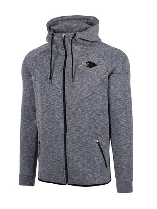 Hyperlion Fitted Origins Mens Light Charcoal Hoodie
