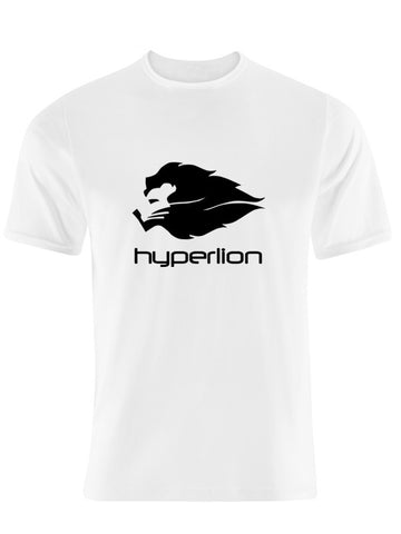Hyperlion Bushido Origins Mens White Gym T Shirt