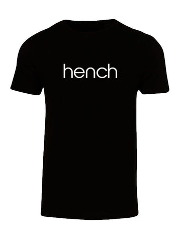 Hyperlion Hench Mens Black Gym T Shirt