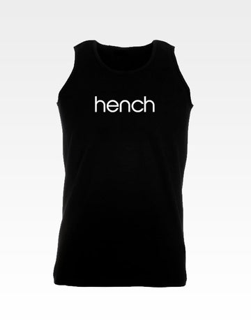 Hyperlion Hench Men's Black Training Gym Vest