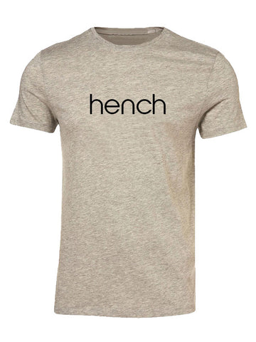 Hyperlion Hench Mens Grey Gym T Shirt