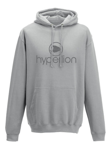Hyperlion Grey Bushido Origins Gym Hoodie