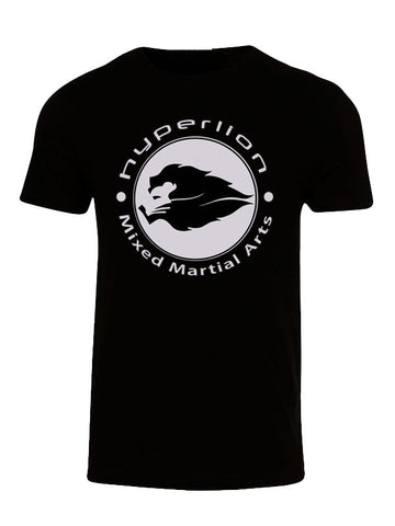 Hyperlion Mixed Martial Arts Mens Black Gym T Shirt
