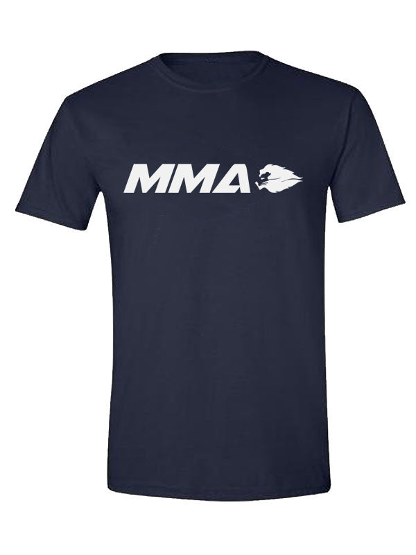 Hyperlion MMA Mens Navy Blue Gym T Shirt