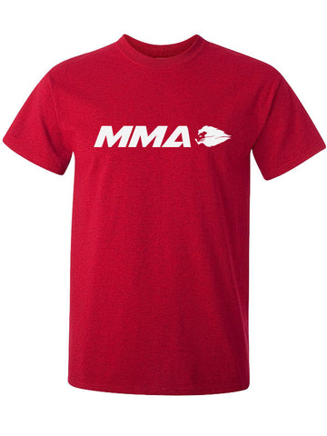 Hyperlion MMA Mens Red Gym T Shirt