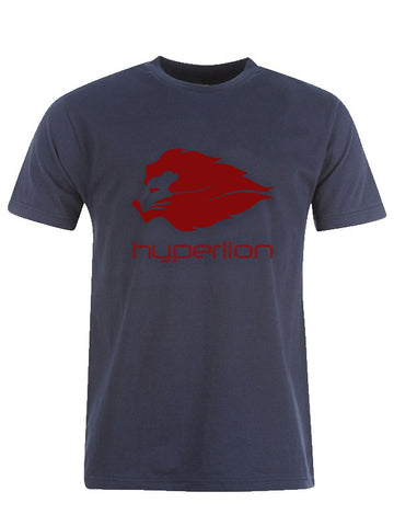 Hyperlion Bushido Origins Mens Navy Blue Gym T Shirt
