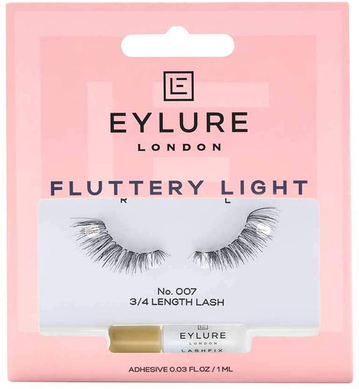 Eylure Fluttery Light Lashes (3/4 Length Lash) - No.007