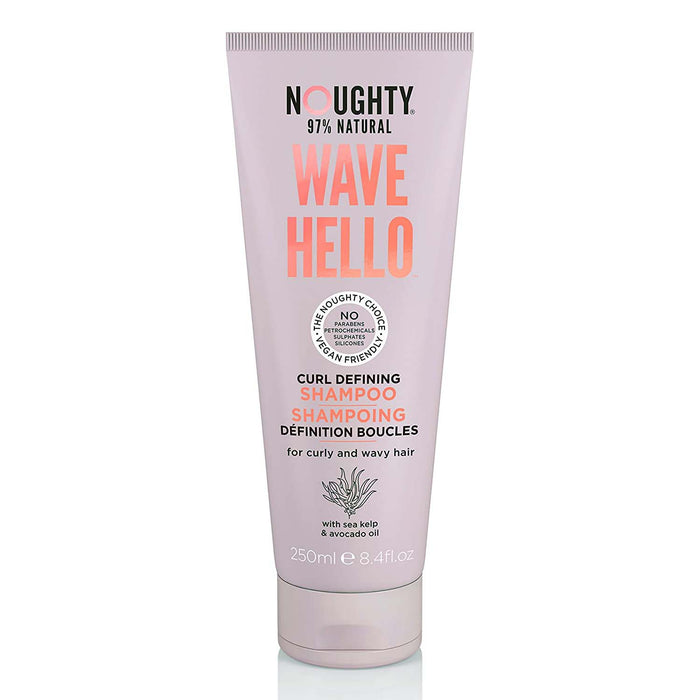 Noughty Wave Hello Curl Defining Shampoo - 250 ml
