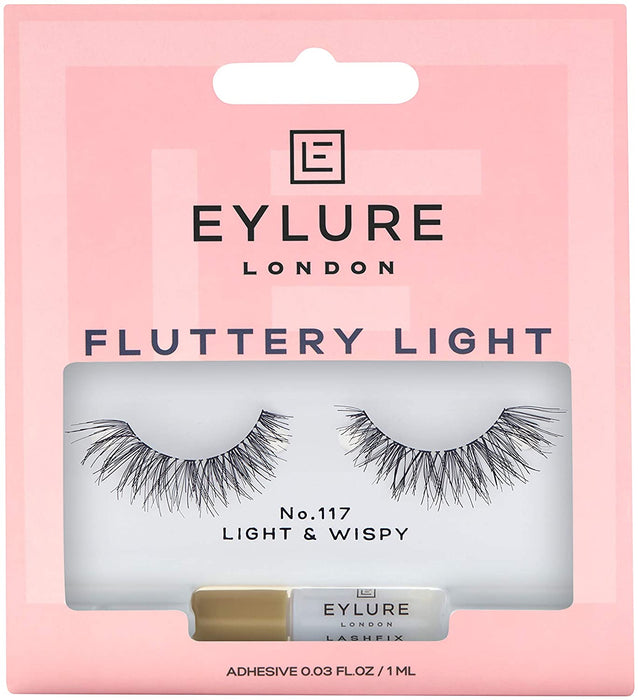 Eylure Fluttery Light Lashes (Light & Wispy) - No.117