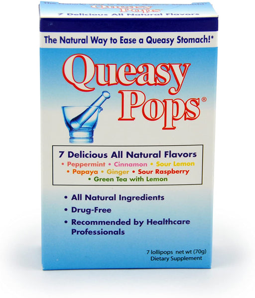 Three Lollies Queasy Pops Assorted Flavours - 7 Count