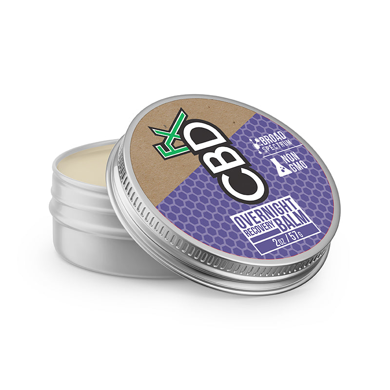 CBDfx Overnight Recovery Balm - 150mg Full Spectrum CBD