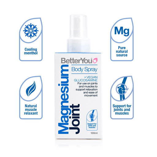 BetterYou Magnesium Joint Body Spray, 100ml
