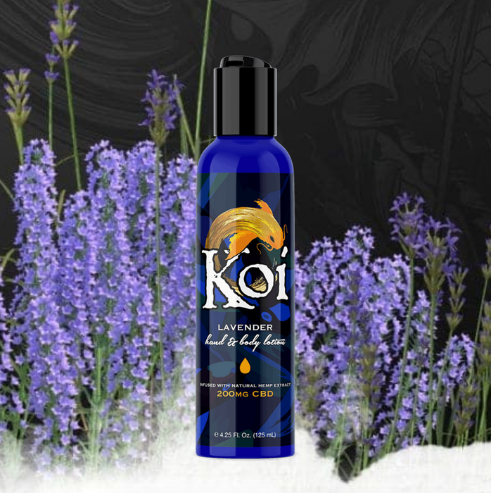 Koi Hand & Body Lotion - Lavender 200mg 125ml