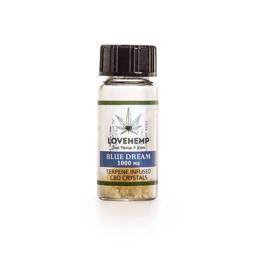 Love Hemp Terpene Infused CBD Crystals 500mg - Blue Dream