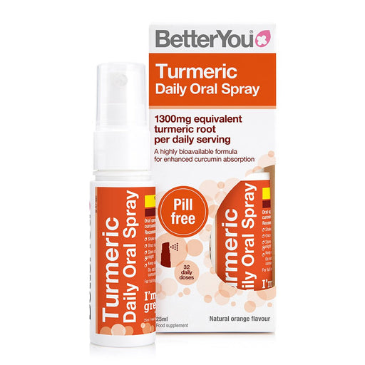 BetterYou Turmeric Daily Oral Spray, 25ml