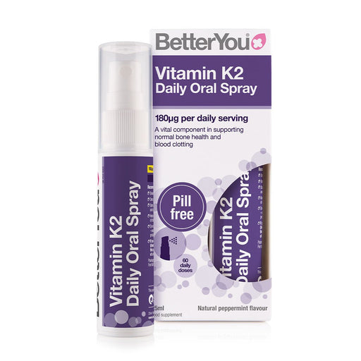BetterYou Vitamin K2 Daily Oral Spray, 25ml