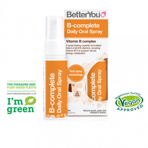 BetterYou B-complete Oral Spray, 25ml