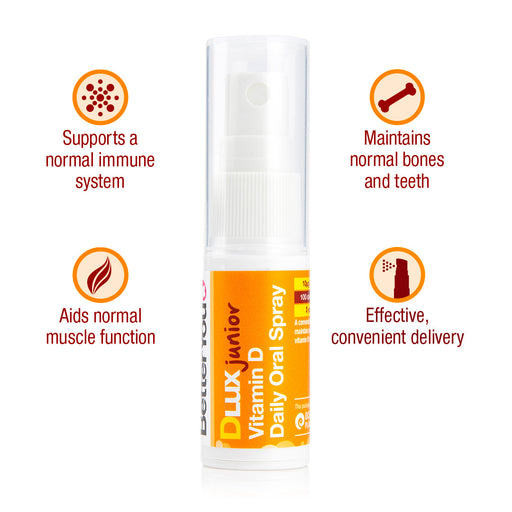 BetterYou DLux Junior Vitamin D Oral Spray, 15ml